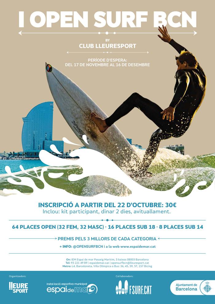 Cartel Open Surf BCN